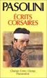 Cover of Ecrits corsaires