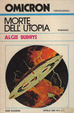 Cover of Morte dell'utopia