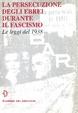 Cover of La Persecuzione degli Ebrei durante il Fascismo
