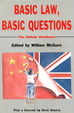 Cover of Basic law, basic questions