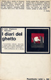 Cover of I diari del ghetto