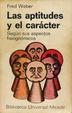 Cover of Las aptitudes y el carácter