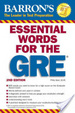 Cover of Barron's Essential Words for the GRE
