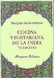 Cover of Cocina vegetariana de la India. 76 recetas