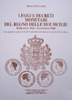 Cover of Leggi e decreti monetari del Regno delle Due Sicilie