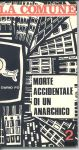 Cover of Morte accidentale di un anarchico