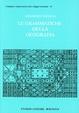 Cover of Le Grammatiche Della Geografia