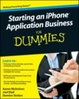 Cover of Starting an Iphone Application Business for Dummies