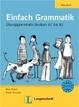 Cover of Einfach Grammatik. Übungsgrammatik Deutsch A1 bis B1