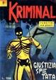Cover of Kriminal n. 9