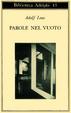 Cover of Parole nel vuoto