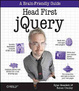 Cover of Head First JQuery