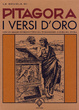 Cover of I versi d'oro