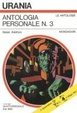 Cover of Antologia Personale n. 3