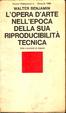 Cover of L'opera d'arte nell'epoca della sua riproducibilità tecnica