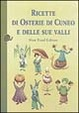 Cover of Ricette di osterie di Cuneo e delle sue valli