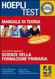 Cover of Hoepli test 4 - Teoria - Scienze della formazione primaria