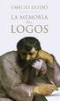 Cover of La memoria del logos
