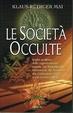 Cover of Le società occulte