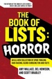 Cover of The Book of Lists: Horror