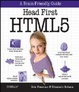 Cover of Head First HTML5