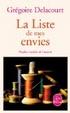 Cover of La liste de mes envies