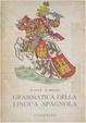 Cover of Grammatica della lingua spagnola