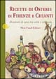 Cover of Ricette di osterie di Firenze e Chianti