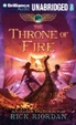 Cover of The Throne of Fire