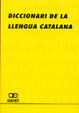 Cover of Diccionari de la llengua catalana