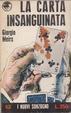 Cover of La carta insanguinata