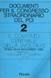 Cover of Documenti per il congresso straordinario del Pci - 2