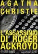 Cover of L'assassinio di Roger Ackroyd