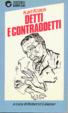 Cover of Detti e contraddetti