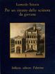 Cover of Per un ritratto dello scrittore da giovane