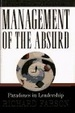 Cover of Management of the Absurd