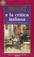 Cover of Proust e la critica italiana