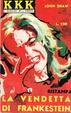 Cover of La Vendetta di Frankenstein