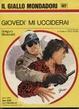 Cover of Giovedì mi ucciderai