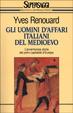 Cover of Gli uomini d'affari italiani del Medioevo