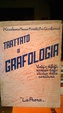 Cover of trattato di grafologia