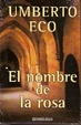 Cover of el nombre de la rosa