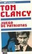 Cover of Juego de patriotas