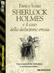 Cover of Sherlock Holmes e il caso della deduzione errata