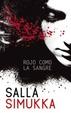 Cover of Rojo como la sangre