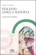 Cover of Italiano lingua materna