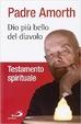 Cover of Dio più bello del diavolo