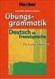 Cover of Deutsch als Fremdsprache: Übungsgrammatik für Fortgeschrittene