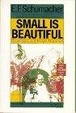 Cover of Small is Beautiful