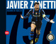 Cover of Javier Zanetti